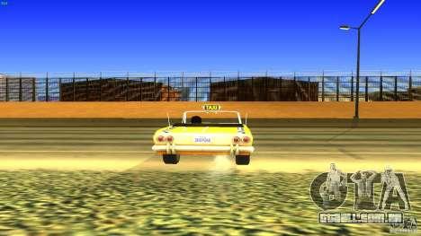 Crazy Taxi - B.D.Joe para GTA San Andreas vista traseira