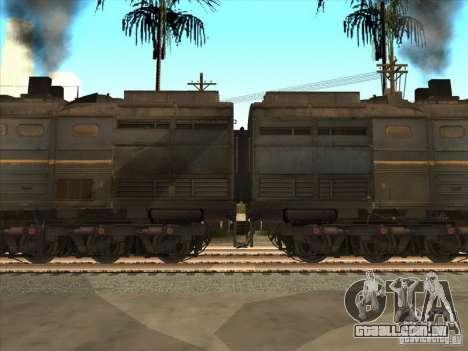 2te10v-4036 para GTA San Andreas esquerda vista
