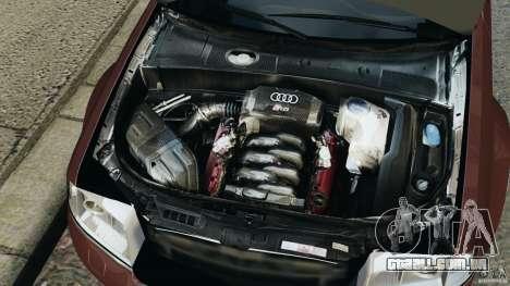 Audi RS6 2003 para GTA 4 vista superior
