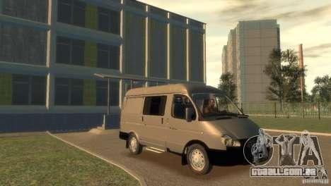GAZ 2752 Sobol para GTA 4 vista de volta