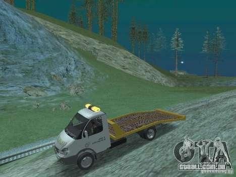 GAZ 3302 2003-2011. Caminhão de reboque para GTA San Andreas