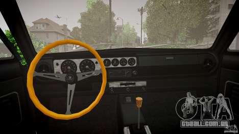 Lotus Cortina S 1963 para GTA 4 vista interior