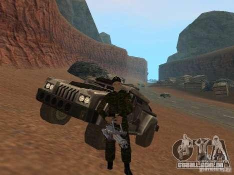 Soldados do exército russo para GTA San Andreas sexta tela