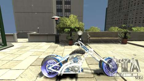 The Chopper para GTA 4 esquerda vista