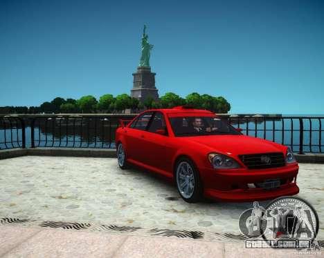 Schafter RS para GTA 4 vista direita