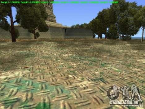 Estátua da liberdade 2013 para GTA San Andreas por diante tela