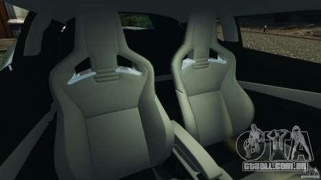 Lotus Evora 2009 v1.0 para GTA 4 vista interior
