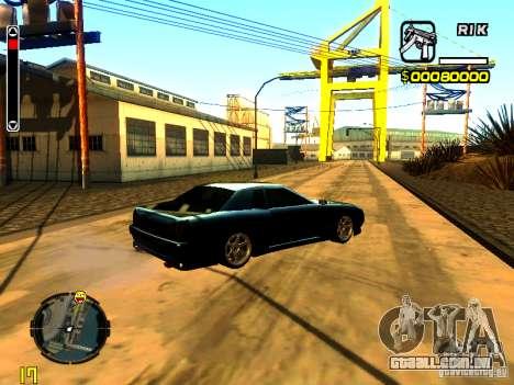 New Elegy v1 para GTA San Andreas vista direita