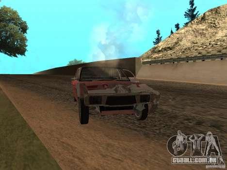 Ford Cortina MK 3 2000E para GTA San Andreas vista superior