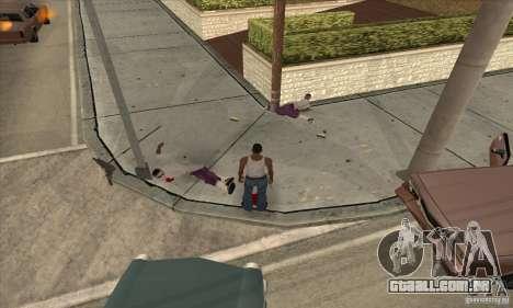 GTA SA Real ragdoll para GTA San Andreas segunda tela