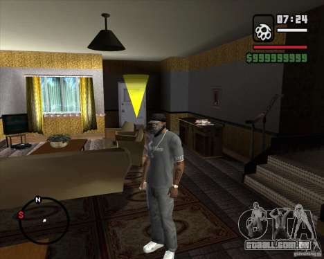 Substituindo o CJeâ casa toda para GTA San Andreas