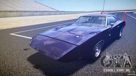 Dodge Charger Daytona 1969 [EPM] para GTA 4 vista inferior
