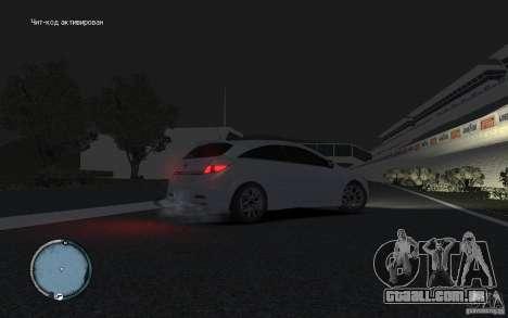 Opel Astra para GTA 4 vista direita