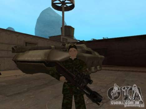 Soldados do exército russo para GTA San Andreas quinto tela