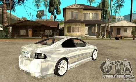 Holden Monaro CV8-R Tuned para GTA San Andreas vista direita
