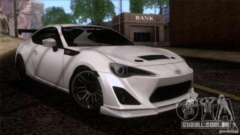 Scion FR-S 2013 para GTA San Andreas vista direita