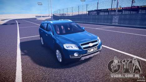 Chevrolet Captiva 2010 Final para GTA 4 vista interior