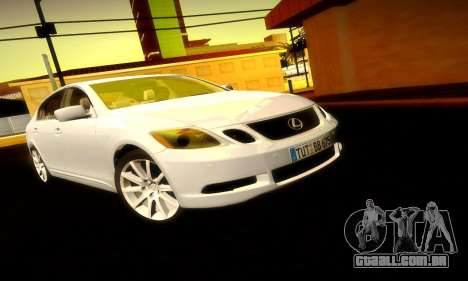 Lexus GS430 para vista lateral GTA San Andreas
