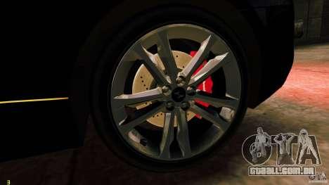 Hyundai Genesis Coupe 2010 para GTA 4 vista de volta