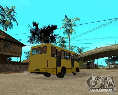 Bogdan Marshrutka A092 para GTA San Andreas