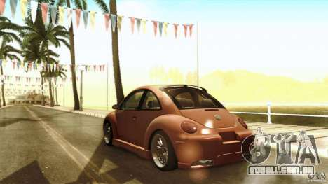 Volkswagen Beetle RSi Tuned para GTA San Andreas vista superior