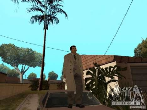 Joe Barbaro de Mafia 2 para GTA San Andreas segunda tela