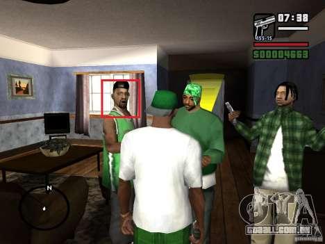 Corrigir animações faciais para GTA San Andreas