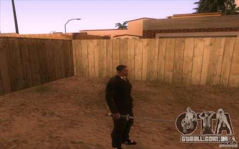 Katana para GTA San Andreas segunda tela