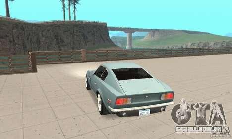 Aston Martin V8 para GTA San Andreas esquerda vista