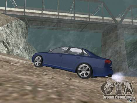 Audi S6 para GTA San Andreas esquerda vista