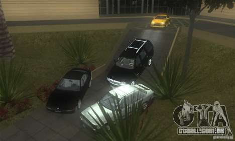 Mercedes-Benz 200D [W124] (1985) para vista lateral GTA San Andreas