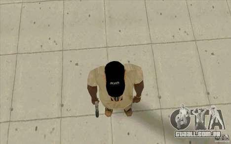 Chefe black cap para GTA San Andreas terceira tela