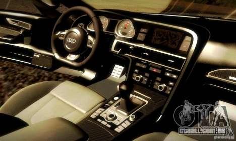 Audi RS6 TT para GTA San Andreas vista superior