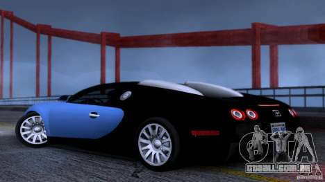 Bugatti Veyron 16.4 para GTA San Andreas vista direita