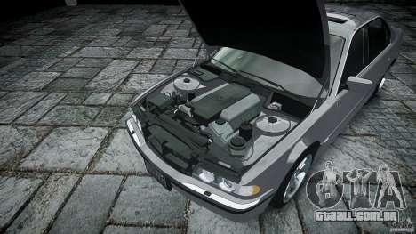BMW 740i (E38) style 32 para GTA 4 vista direita