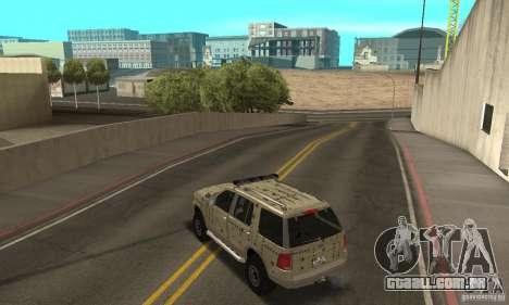 Ford Explorer 2002 para as rodas de GTA San Andreas