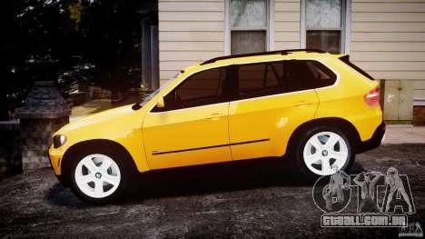 BMW X5 E70 v1.0 para GTA 4 esquerda vista