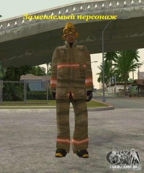 Peles de STALKER para GTA San Andreas sexta tela