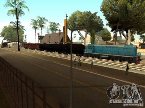 Tem2u-9392 para GTA San Andreas vista direita