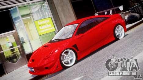 Toyota Celica Tuned 2001 v1.0 para GTA 4 esquerda vista