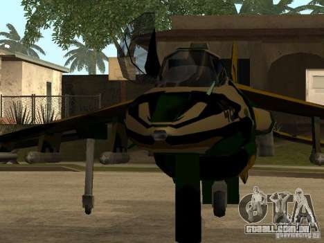 Camuflagem para Hydra para GTA San Andreas