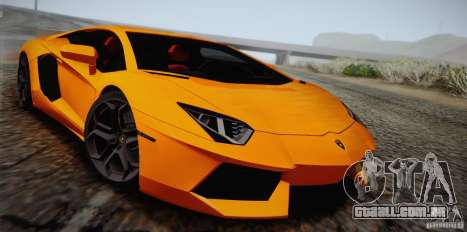 Lamborghini Aventador LP700-4 Final para GTA San Andreas vista superior