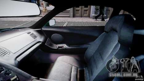 Toyota Supra MKIV 1995 v2.0 Final para GTA 4 vista interior