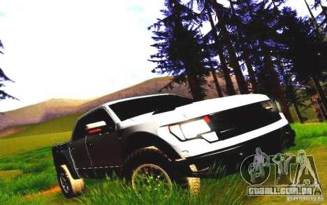 Ford Raptor Crewcab 2012 para GTA San Andreas esquerda vista