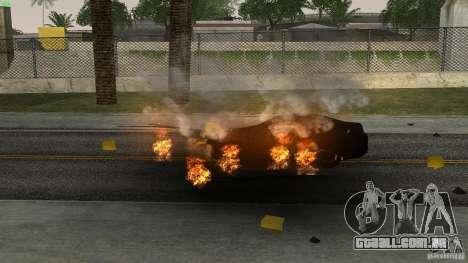 Overdose Effects v1.5 para GTA San Andreas por diante tela