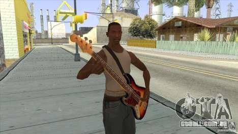 Músicas do filme na guitarra para GTA San Andreas quinto tela
