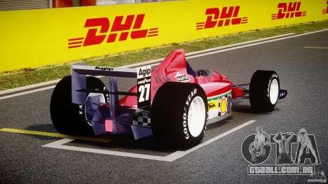 Ferrari Formula 1 para GTA 4 vista lateral