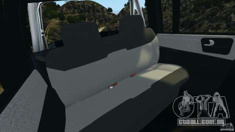 Chevrolet S-10 Colinas Cabine Dupla para GTA 4 vista lateral