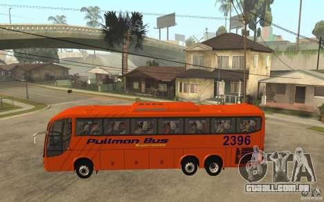 Marcopolo Paradiso 1200 Pullman Bus para GTA San Andreas esquerda vista