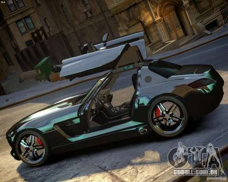 Mercedes SLS Extreme para GTA 4 esquerda vista